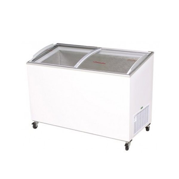 Bromic Angled Glass Commercial Chest Freezer - CF0400ATCG