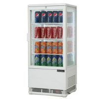 Bromic Countertop Beverage Chiller Flat Glass White - 78 Litre CT0080G4W