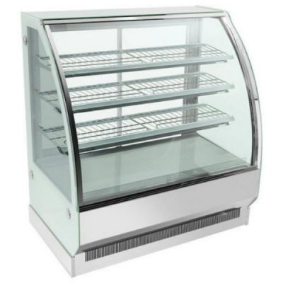 Bonvue Chilled Curved Glass 4 Levels Food Display CS-1800S3