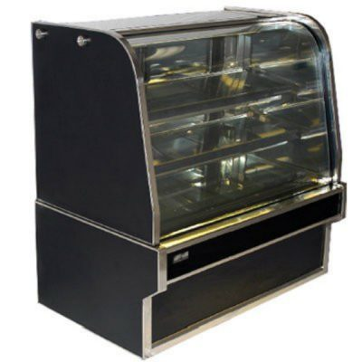 Koldtech Curved Glass Refrigerated Cake Display 1200mm KT.RCD.12