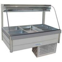 Roband Curved Glass Cold Food Bar CRX23RD