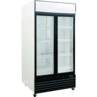Exquisite Double Door Display Fridge - 1000 Litre DC1000P