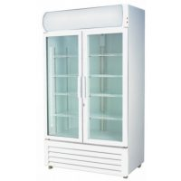 F.E.D. Two Door Display Fridge LG-730GE