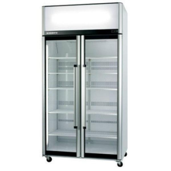 Skope Two Glass Door Upright Chiller - 980 Litre SK1000-3